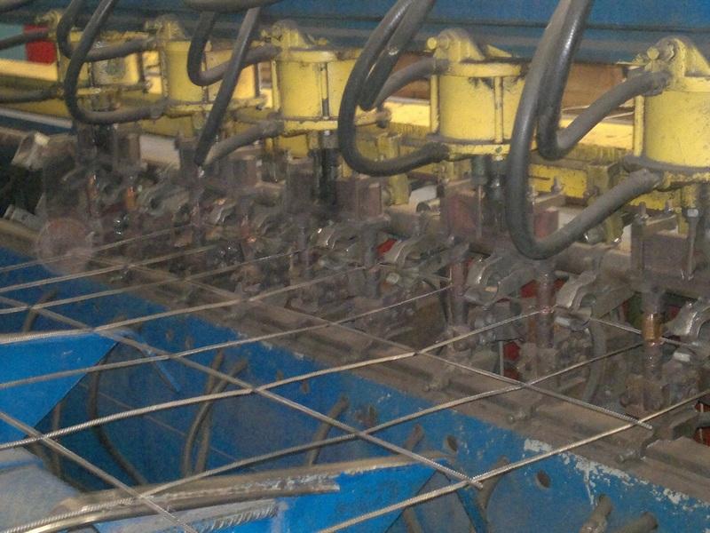 Модернизация линий производства арматурной решетки для заводов ЖБИ