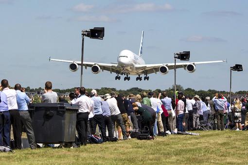 На авиасалоне в Фарнборо подписано контрактов на сумму, втрое превышающую предыдущий показатель