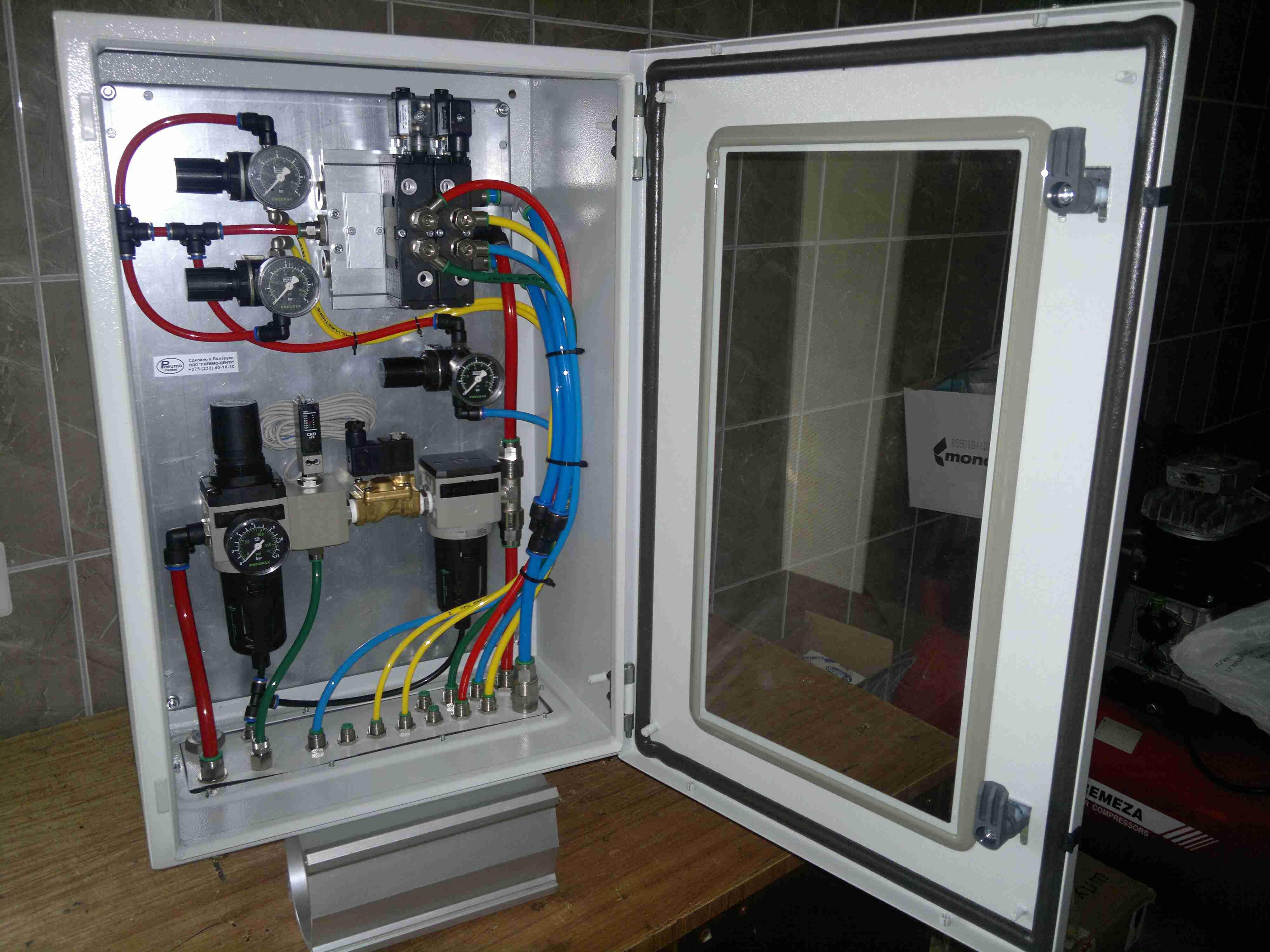 Шкафы, станки и др. оборудование