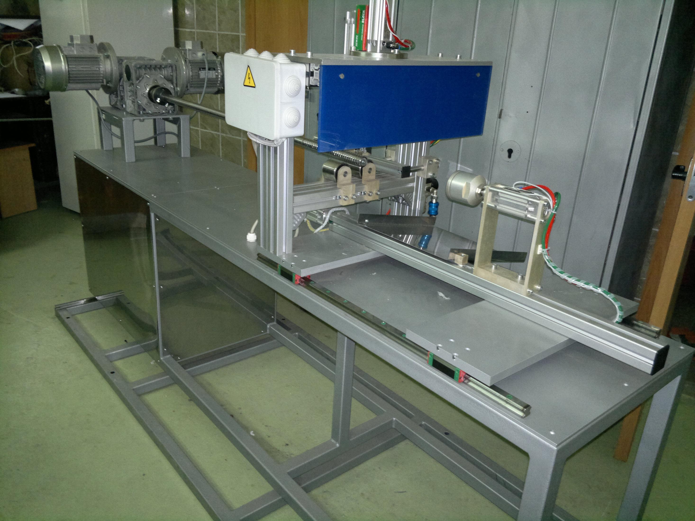 Линия по производству трубчатых волокнисто-пористых фильтров для жидкостей и газов