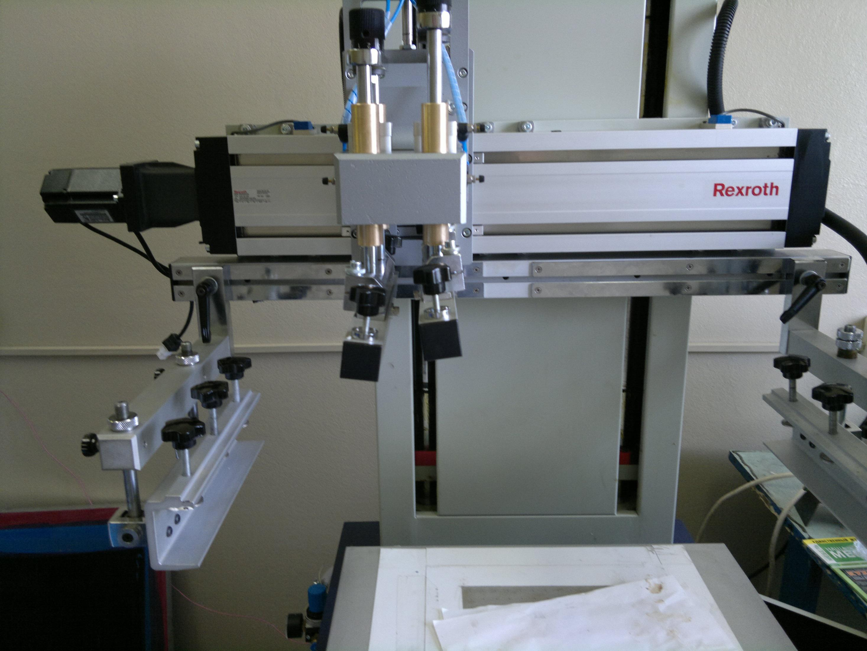 Модернизация машин трафаретной печати